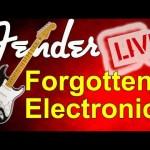 FENDER'S FORGOTTEN ELECTRONICS REVIEWED LIVE