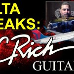 DELTA BREAKS BC RICH GUITARS - Excerpt from LIVE Show