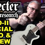 SCHECTER P90 SOLO-II SPECIAL Guitar Demo & Review