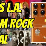 80's LA SUNSET STRIP in a PEDAL!  Fender MTG:LA Distortion Pedal - Demo & Review