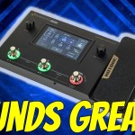 A Multi-Effects Unit that has it all!  The Hotone Ampero One - Demo & Review