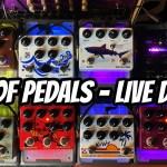 TTK LIVE! LOTS of PEDALS - Live Demo - Let's ROCK! m/