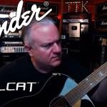 FENDER HELLCAT Acoustic Guitar Demo - Fishman Performer LIVE UNBOXING!