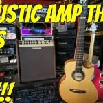LIVE DEMO of FISHMAN LOUDBOX PERFORMER ACOUSTIC GUITAR AMP!!!