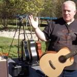 OUTDOOR DEMO!  Acoustic Guitar Review - Traveler Guitar Redlands Concert Acoustic-Electric
