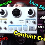 Ultimate Interface for Live Streams / Webcasts - Tascam MiNiStudio Creator US-42