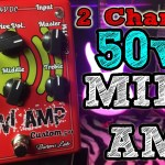 2 Channel, 50 watt MINI AMP by Baroni Labs - CUSTOM 50
