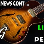 Gibson Continued ... PLUS ... B&G Little Sister - SEMI HOLLOW w P90s!