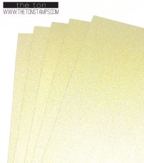 yellow gold glitter full sheet