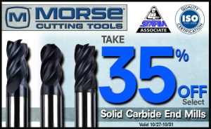 Solid Carbide End Mills - Promo