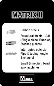 M.K. Morse Matrix II Band Saw Blades