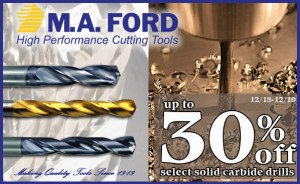 MA Ford - Solid Carbide Drills