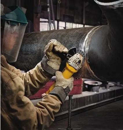 Preparing the grinder