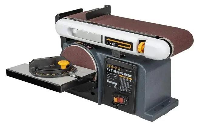 POWERTEC BD4600 Belt Disc Sander