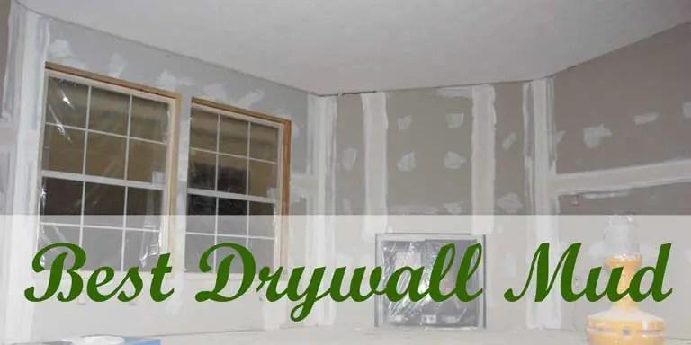 best drywall mud