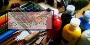 best paint for styrofoam