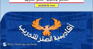 مفاتيح اختصارات الاكسل - اسلام عبدالله