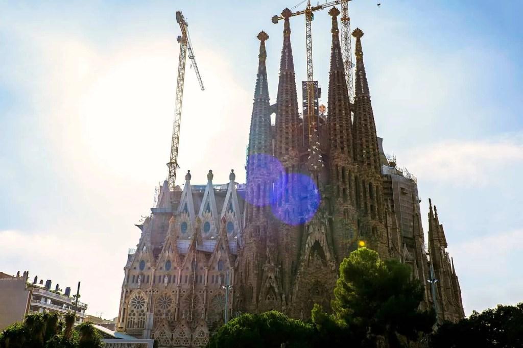 puntastic proposal, basilica de la sagrada familia