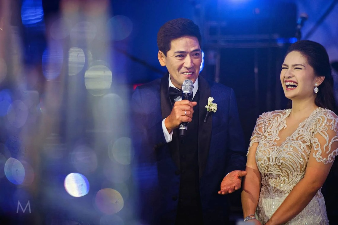 Vic and Pauleen, metrophoto