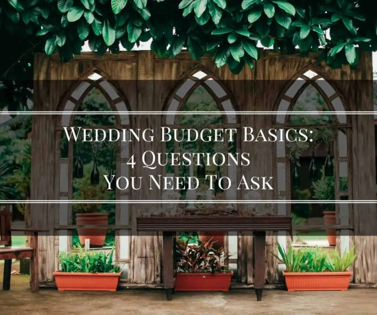 wedding budget basics