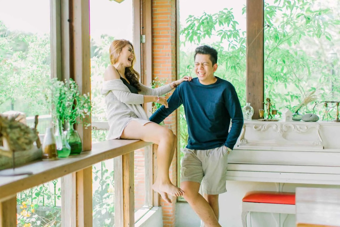 cozy indoor prenup, bob & zab photography, trisha leah mercado
