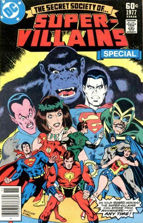 1. Secret Society of Super Villains