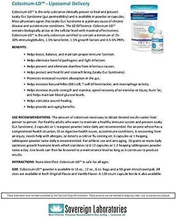colostrum supplement crohns