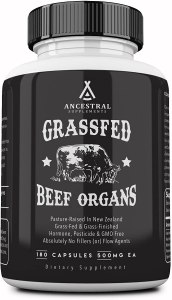 ancestral supplements beef organs, desiccated liver, desiccated liver tablets, desiccated liver benefits, desiccated beef liver, desiccated liver pills, what is desiccated liver
