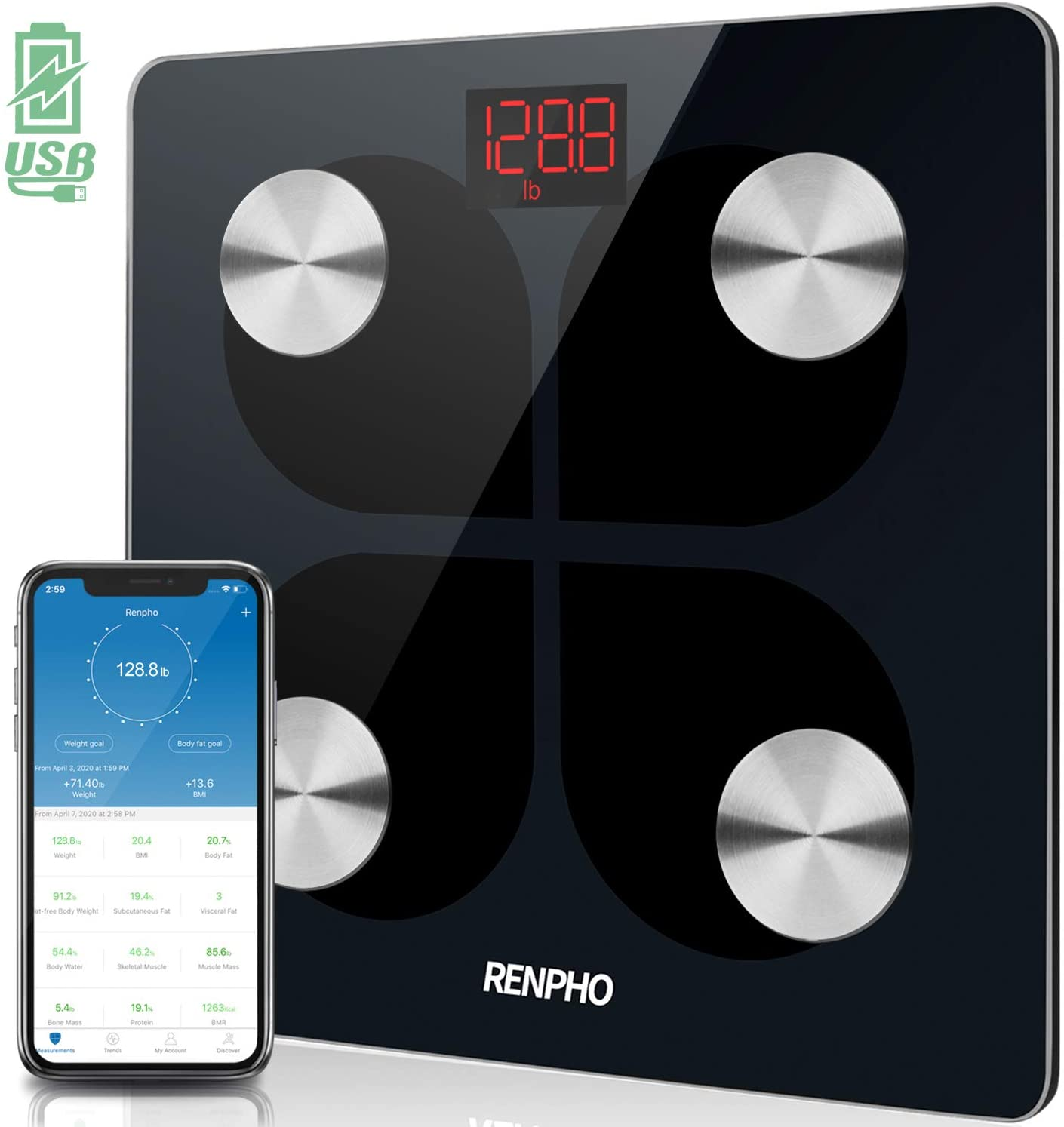 renpho scale, renpho scale review, renpho scale accuracy, renpho scale app