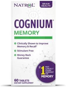 cognium, natrol cognium, cognium reviews, cognium side effects