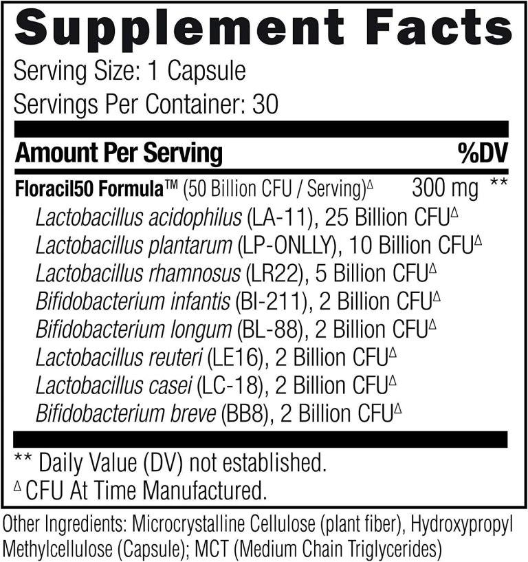 floracil50, floracil50 reviews, floracil50 probiotic