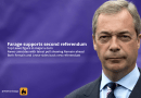 Farage calls for second EU referendum