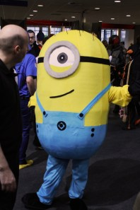 A Minion on an away trip to MCM. MCM Midlands, Feb 2015