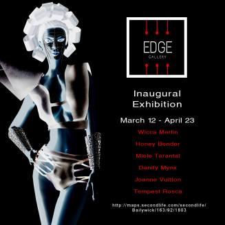 The Edge Gallery Grand Opening Poster