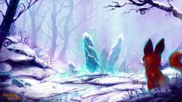 01 - Seasons after Fall - Sleepy rocks in winter