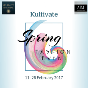 Kultivate Spring 2017 Fashion Event Poster - Copy