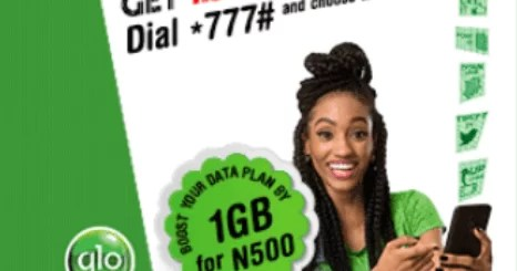 glo 1GB for 500 Naira