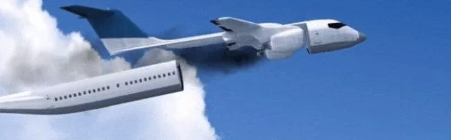 A Plane That Can Detach Its Entire CABIN In Case Of An Emergency & Land Passengers Safely Away From The Crash!
