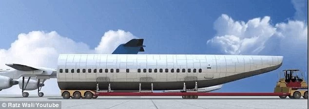 A Plane That Can Detach Its Entire CABIN In Case Of An Emergency & Land Passengers Safely Away From The Crash! - 2