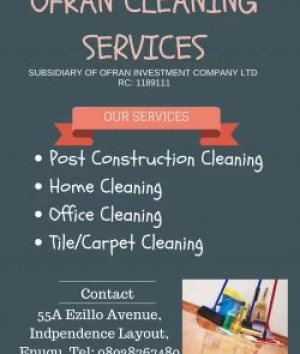 Ofran Cleaning Services Enugu