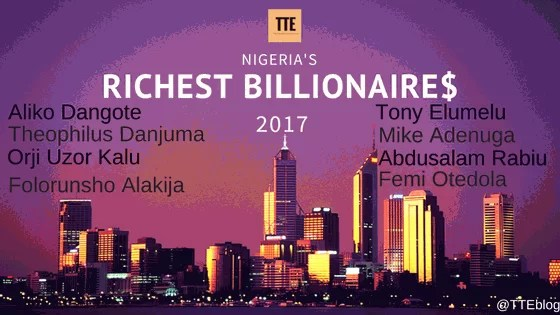 Top 10 Richest Nigerians 2017 According to Forbes