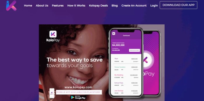BEST ONLINE BANK SAVINGS ACCOUNTS KOLO PAY