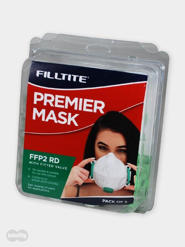Filltite Premier FFP2 Face Mask Pack of 5