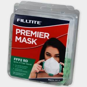 Filltite Premier FFP2 Face Mask Pack of 5