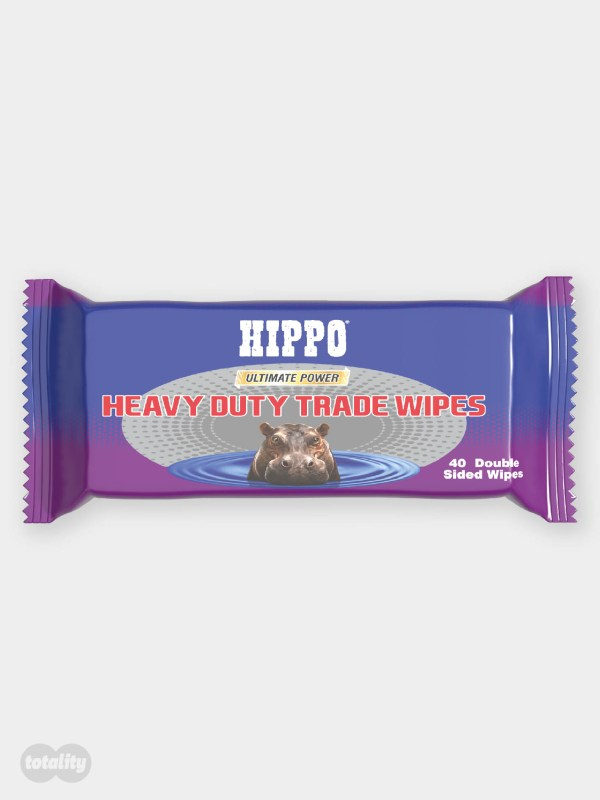Hippo Heavy Duty Trade Wipes Grab Bag Pack of 40