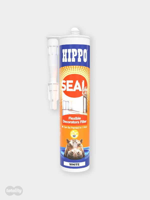 Hippo SEALit Flexible Decorators Filler 290ml Cartridge White