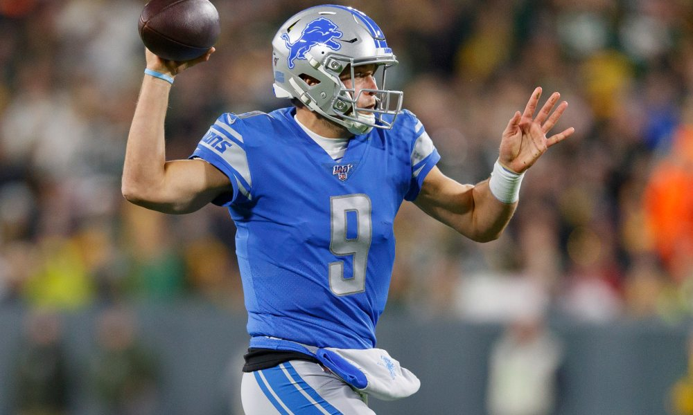 Matthew Stafford Passing Yards Leader 2020