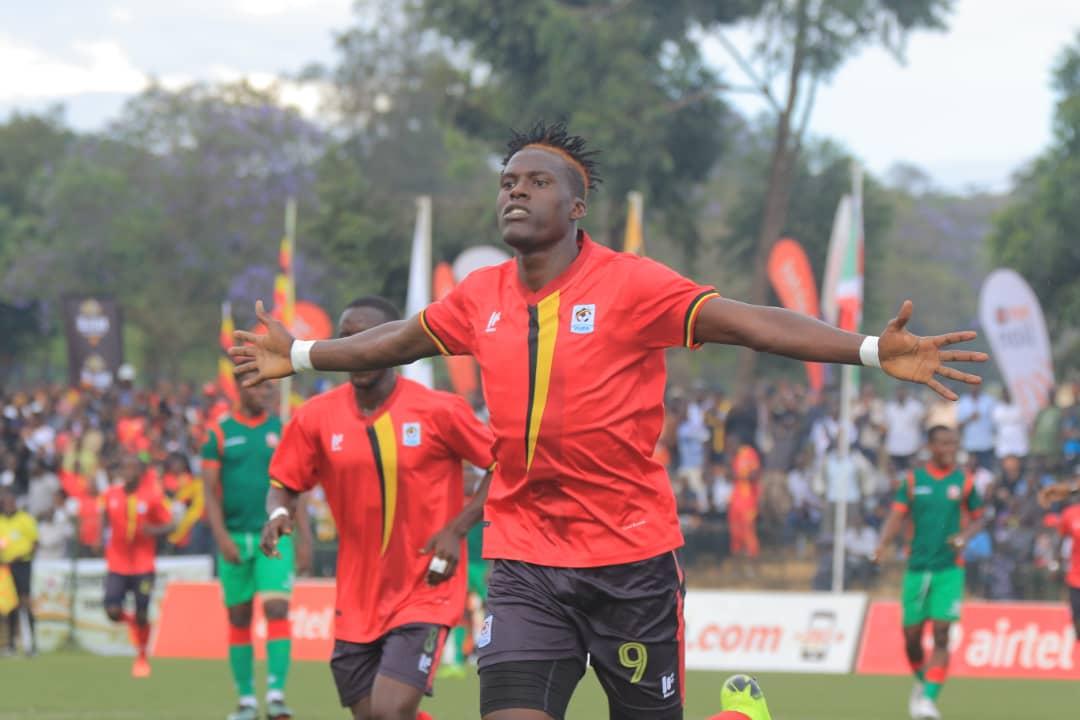 Fahad Bayo against Burundi - CHAN qualifiers