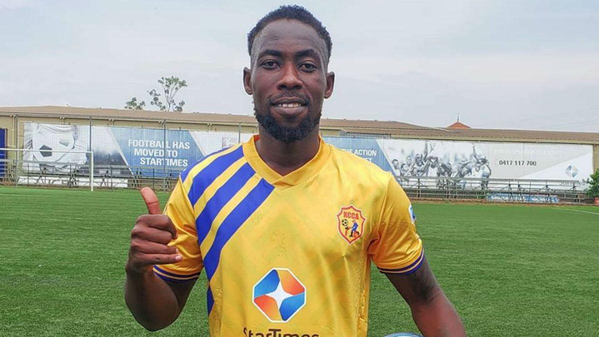 KCCA FC signed Denis Iguma ahead of the StarTimes UPL 2020/21 season