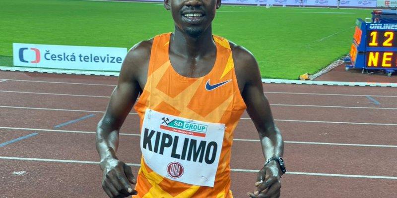 Jacob Kiplimo wins the 500m race in Ostrava